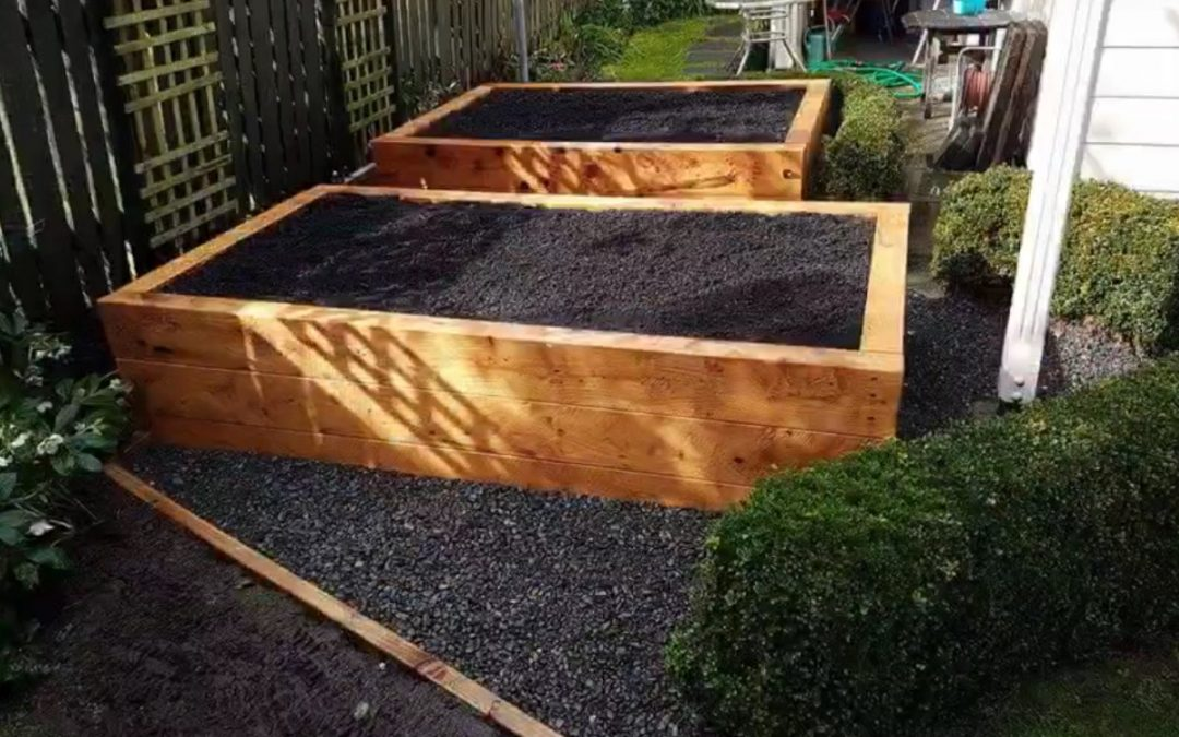 Garden Restoration and Sleeper Vege Bins